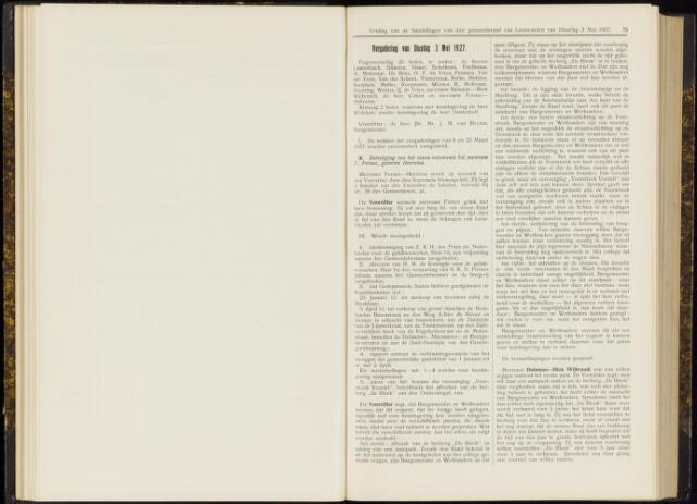 Raadsverslagen van de gemeente Leeuwarden, 1865-2007 (Notulen) 1927-05-03