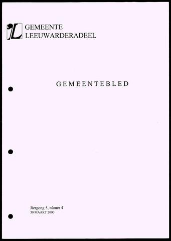 Notulen van de gemeenteraad van Leeuwarderadeel 2000-03-30