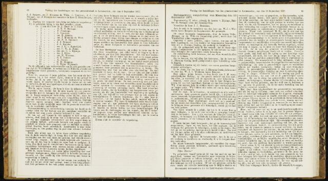 Raadsverslagen van de gemeente Leeuwarden, 1865-2007 (Notulen) 1877-09-10