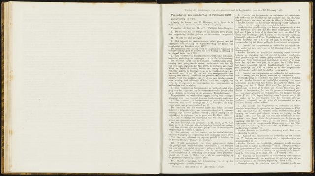 Raadsverslagen van de gemeente Leeuwarden, 1865-2007 (Notulen) 1880-02-12