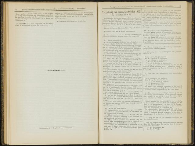 Raadsverslagen van de gemeente Leeuwarden, 1865-2007 (Notulen) 1902-10-28