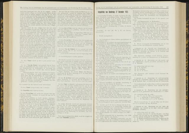 Raadsverslagen van de gemeente Leeuwarden, 1865-2007 (Notulen) 1923-12-27