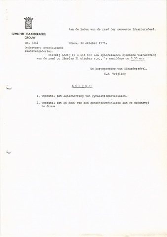 raadsverslagen Idaarderadeel 1935-1983 1975-10-21