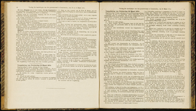 Raadsverslagen van de gemeente Leeuwarden, 1865-2007 (Notulen) 1874-03-19