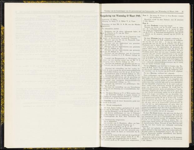 Raadsverslagen van de gemeente Leeuwarden, 1865-2007 (Notulen) 1948-03-10