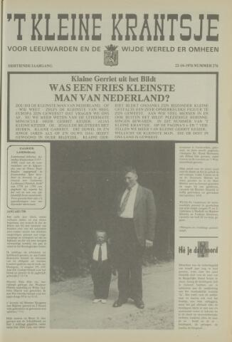 't Kleine Krantsje, 1964-1997 1976-10-22