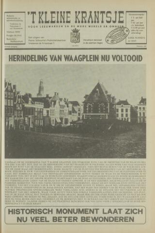 't Kleine Krantsje, 1964-1997 1971-06-05