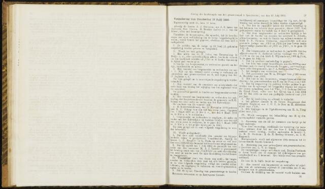 Raadsverslagen van de gemeente Leeuwarden, 1865-2007 (Notulen) 1882-07-13
