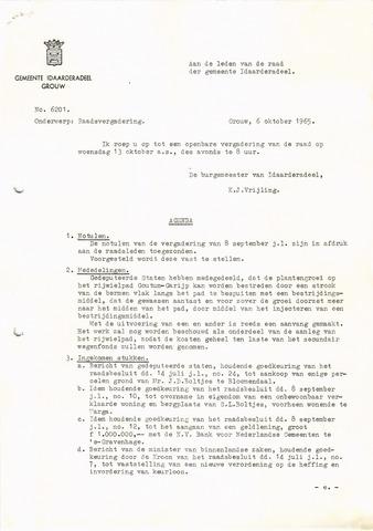 raadsverslagen Idaarderadeel 1935-1983 1965-10-13