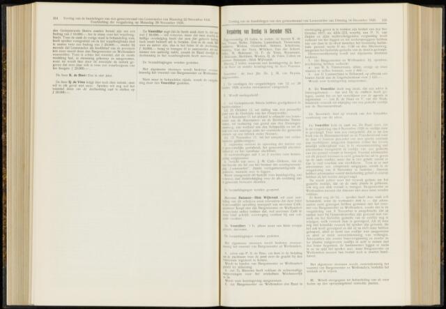 Raadsverslagen van de gemeente Leeuwarden, 1865-2007 (Notulen) 1926-12-14