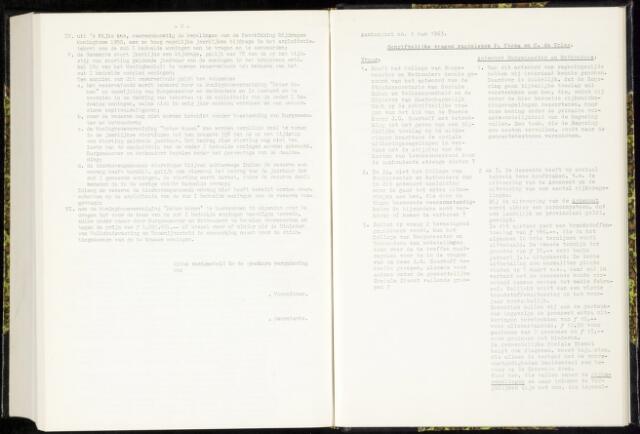 Raadsverslagen van de gemeente Leeuwarden, 1865-2007 (Schriftelijke vragen) 1963-01-01