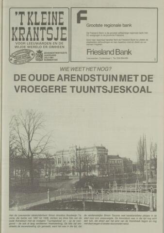 't Kleine Krantsje, 1964-1997 1991-07-01