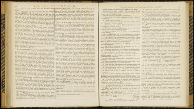 Raadsverslagen van de gemeente Leeuwarden, 1865-2007 (Notulen) 1871-10-12