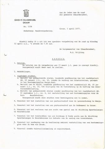 raadsverslagen Idaarderadeel 1935-1983 1977-04-12