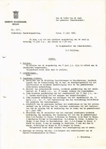 raadsverslagen Idaarderadeel 1935-1983 1966-07-13