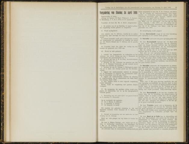 Raadsverslagen van de gemeente Leeuwarden, 1865-2007 (Notulen) 1900-04-24