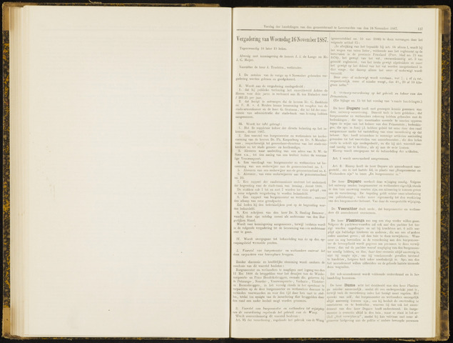 Raadsverslagen van de gemeente Leeuwarden, 1865-2007 (Notulen) 1887-11-16