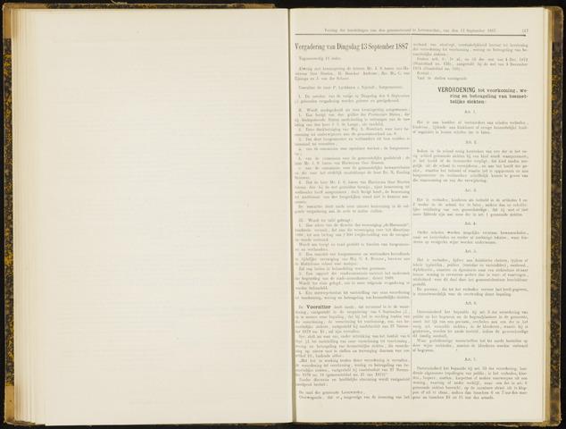 Raadsverslagen van de gemeente Leeuwarden, 1865-2007 (Notulen) 1887-09-13