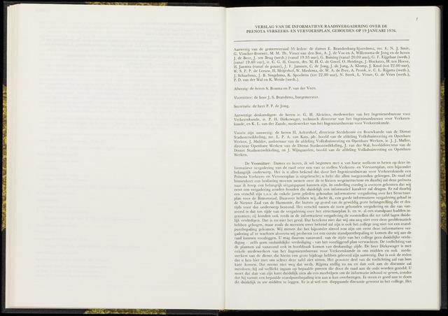 Raadsverslagen van de gemeente Leeuwarden, 1865-2007 (Notulen) 1976-01-19