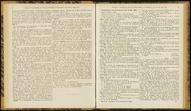 Raadsverslagen van de gemeente Leeuwarden, 1865-2007 (Notulen) 1885-05-28