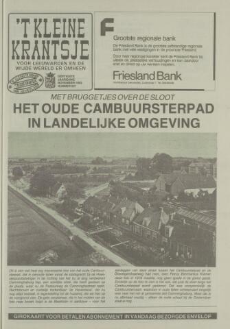 't Kleine Krantsje, 1964-1997 1993-11-01