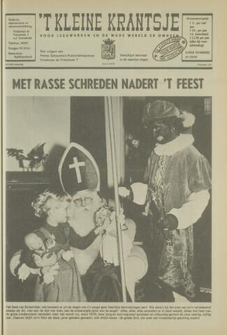 't Kleine Krantsje, 1964-1997 1970-11-14