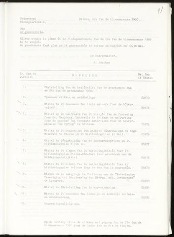 Notulen van de gemeenteraad van Leeuwarderadeel 1980-05-22