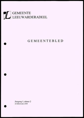 Notulen van de gemeenteraad van Leeuwarderadeel 2000-02-24