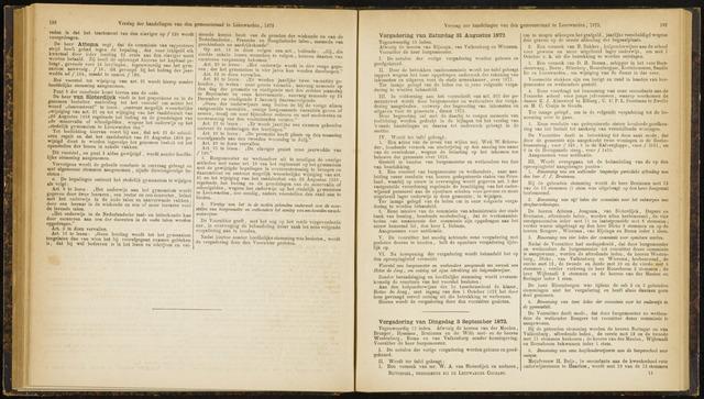 Raadsverslagen van de gemeente Leeuwarden, 1865-2007 (Notulen) 1872-08-31