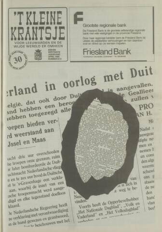 't Kleine Krantsje, 1964-1997 1995-04-01