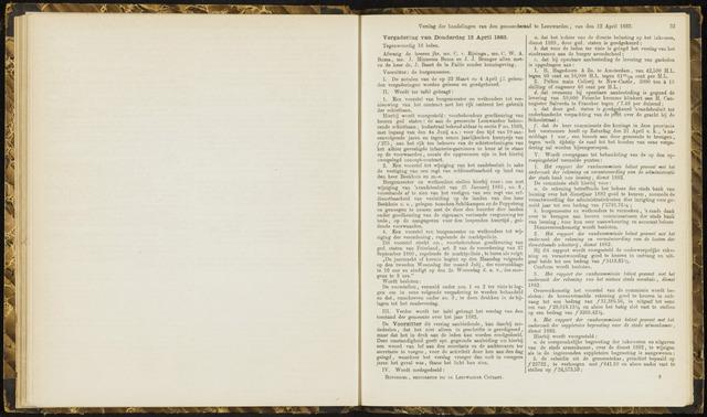 Raadsverslagen van de gemeente Leeuwarden, 1865-2007 (Notulen) 1883-04-12