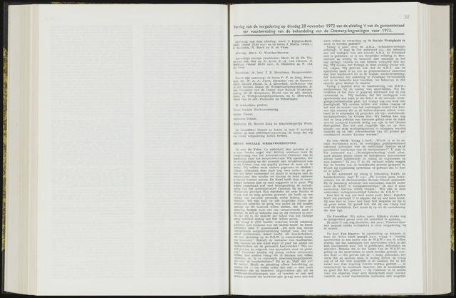 Raadsverslagen van de gemeente Leeuwarden, 1865-2007 (Notulen) 1972-11-28