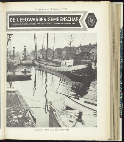 Leeuwarder Gemeenschap 1958-12-01