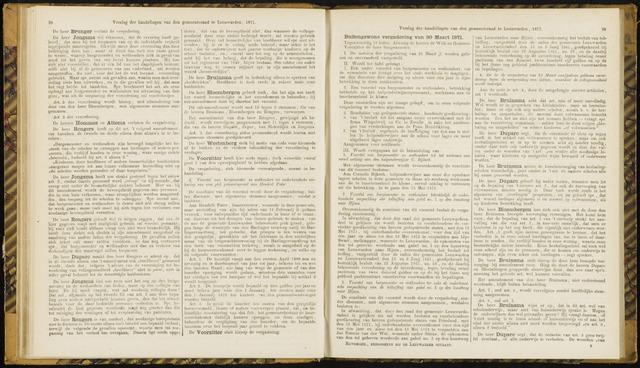 Raadsverslagen van de gemeente Leeuwarden, 1865-2007 (Notulen) 1871-03-30