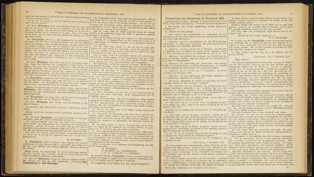 Raadsverslagen van de gemeente Leeuwarden, 1865-2007 (Notulen) 1872-12-12