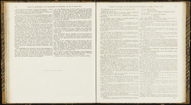 Raadsverslagen van de gemeente Leeuwarden, 1865-2007 (Notulen) 1877-10-15