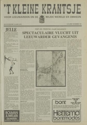 't Kleine Krantsje, 1964-1997 1981-09-12