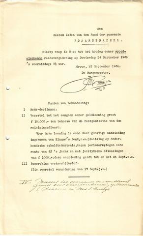 raadsverslagen Idaarderadeel 1935-1983 1936-09-24
