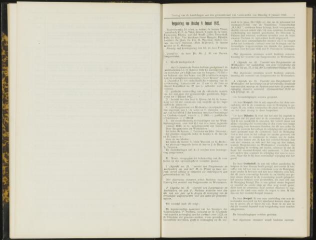Raadsverslagen van de gemeente Leeuwarden, 1865-2007 (Notulen) 1923