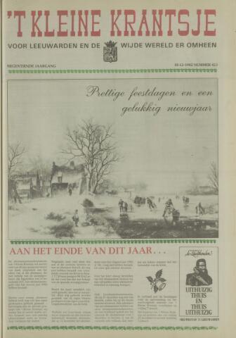 't Kleine Krantsje, 1964-1997 1982-12-18