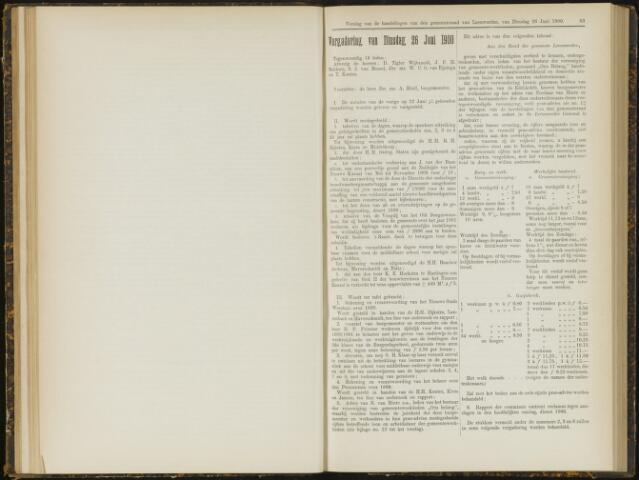 Raadsverslagen van de gemeente Leeuwarden, 1865-2007 (Notulen) 1900-06-26
