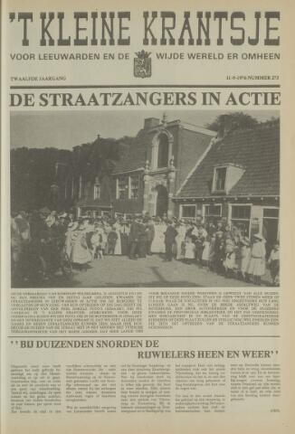 't Kleine Krantsje, 1964-1997 1976-09-11