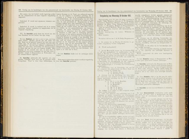 Raadsverslagen van de gemeente Leeuwarden, 1865-2007 (Notulen) 1913-10-29