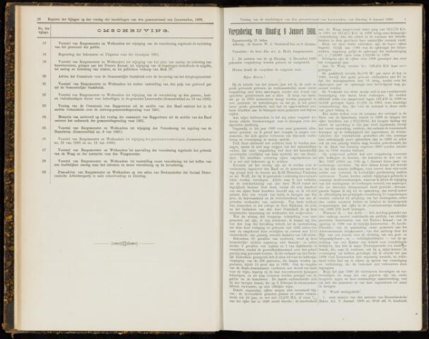 Raadsverslagen van de gemeente Leeuwarden, 1865-2007 (Notulen) 1900