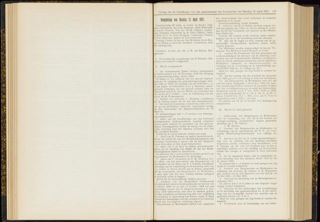 Raadsverslagen van de gemeente Leeuwarden, 1865-2007 (Notulen) 1921-04-12