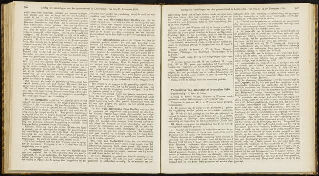 Raadsverslagen van de gemeente Leeuwarden, 1865-2007 (Notulen) 1880-11-29