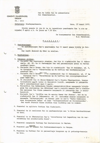raadsverslagen Idaarderadeel 1935-1983 1975-04-08