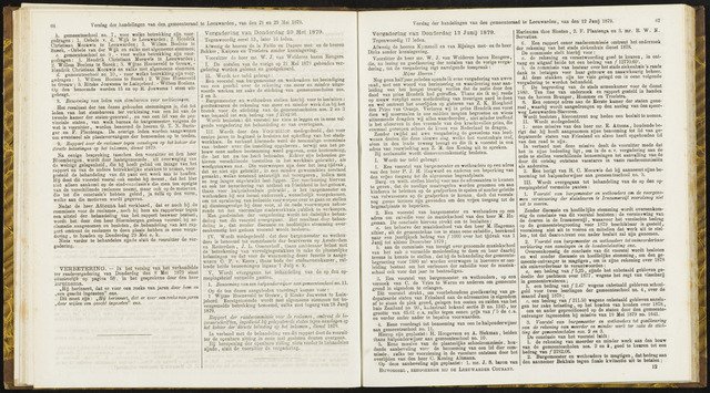 Raadsverslagen van de gemeente Leeuwarden, 1865-2007 (Notulen) 1879-05-29