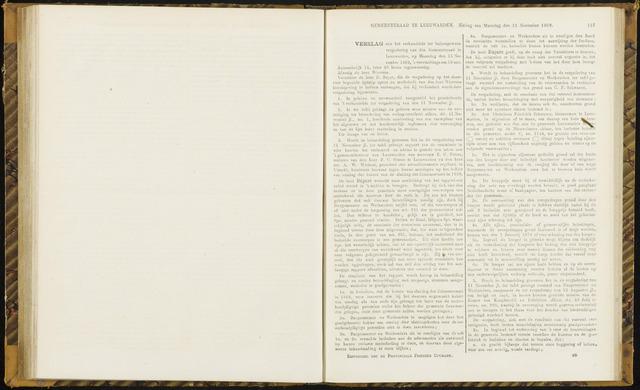 Raadsverslagen van de gemeente Leeuwarden, 1865-2007 (Notulen) 1869-11-15