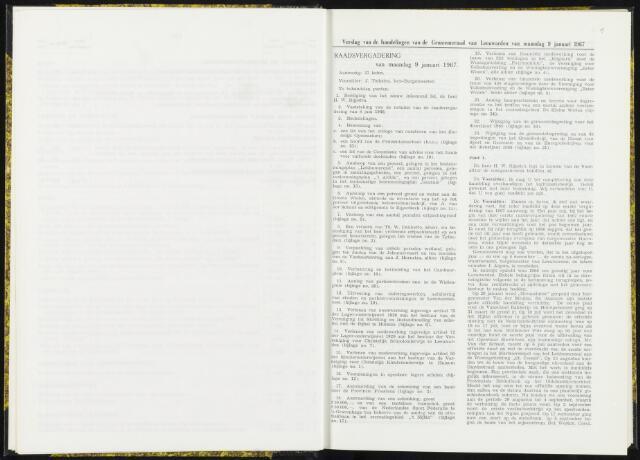Raadsverslagen van de gemeente Leeuwarden, 1865-2007 (Notulen) 1967